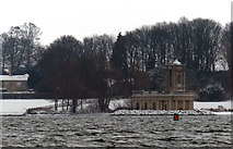 SK9306 : Normanton Church in the snow by Mat Fascione