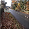 SO6823 : NE boundary of Aston Ingham by Jaggery