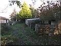 SU1896 : Ruins of Sterts Farm, near Upper Inglesham by Vieve Forward