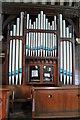 SK1337 : Organ, St Giles' church, Marston Montgomery by J.Hannan-Briggs