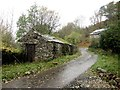 NY4123 : Derelict barn at Lowthwaite by Graham Robson