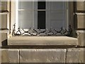SP2864 : Ornamental wrought-iron cheval de frise, Court House, Castle Street by Robin Stott