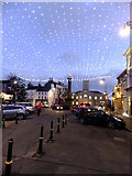 SC2667 : Christmas lights, Castletown Square 2013 by Richard Hoare