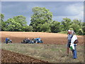 SO6533 : Field for ploughing at the Much Marcle Steam Rally by Chris Allen