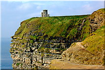 R0392 : Cliffs of Moher - O'Brien's Tower by Joseph Mischyshyn