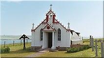 HY4800 : Italian Chapel, Lamb Holm, Orkney Islands by David Hawgood