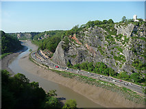 ST5673 : View from Clifton Suspension Bridge, Bristol (2) by Stephen Richards