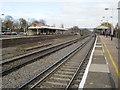 SU7654 : Winchfield railway station, Hampshire by Nigel Thompson