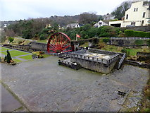 SC4384 : Snaefell or the Lady Evelyn waterwheel and the washing floor area by Richard Hoare