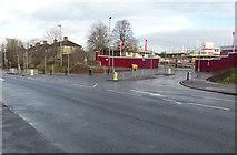 SK5802 : New housing along Saffron Lane by Mat Fascione