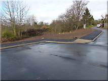 SK5802 : New access road along Saffron Lane by Mat Fascione