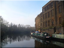 TQ3083 : Regent's Canal and Camley Street by Marathon