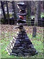 NY3704 : Turning Point Sculpture, Rothay Park, Ambleside by Graham Robson