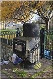 SK3487 : Waste Disposal Chute, near Jericho Street Flats, Netherthorpe, Sheffield by Terry Robinson