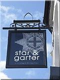 SK3487 : Star & Garter Sign, Winter Street, Sheffield by Terry Robinson