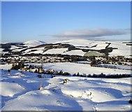 NT4728 : Winter over Selkirk by Adam D Hope