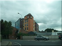 N8667 : St Mary's Navan Credit Union building from the Abbey Road roundabout by Eric Jones