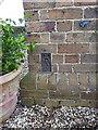 SO6694 : OS Flush Bracket G2199 - Morville by Richard Law