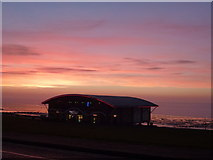 "TF6740 : Sunset over Hunstanton ""Pier"" by Richard Humphrey"