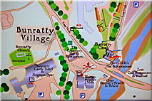 R4560 : Bunratty - Village Area portion of Directory by Joseph Mischyshyn