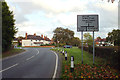 SP0675 : Approaching a staggered junction, Wythall by Robin Stott