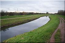 SJ8092 : The River Mersey near Chorlton by Bill Boaden