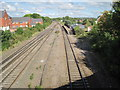 SK6211 : Syston railway station, Leicestershire by Nigel Thompson