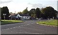 SP0675 : Staggered crossroads on Middle Lane, Wythall by Robin Stott