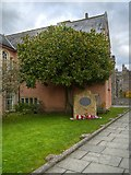 ST5545 : Cathedral Green, Memorial to Harry Patch by David Dixon