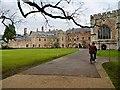 ST5545 : Bishop Jocelin's Palace, Wells by David Dixon