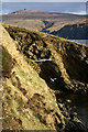 HP6114 : Low cliffs at Burrafirth by Mike Pennington