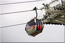 TQ3979 : The Emirates cable car by Steve Daniels
