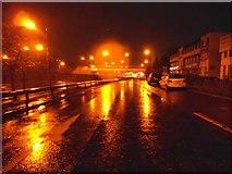 TQ1983 : Service road along the North Circular Road, Park Royal by David Howard