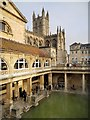 ST7564 : The Roman Baths by David Dixon