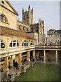 ST7564 : The Roman Baths by David Dixon