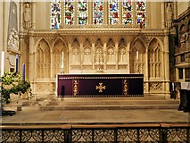 ST7564 : Bath Abbey, High Altar and Reredos by David Dixon