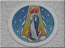 H6357 : Mosaic panel, RC Church Ballygawley by Kenneth  Allen