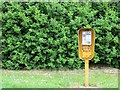 NZ2656 : Telephone box, Ravensworth Road by Richard Webb