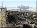 ST3062 : Rocky Shore below Claremont Crescent by David Dixon