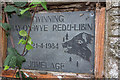 SO2242 : Information Plaque, Hay-on-Wye by Christine Matthews