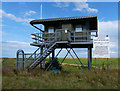 TF4750 : Observation tower at RAF Wainfleet by Mat Fascione