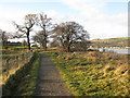 NS4572 : Path between the Erskine Golf Club and the River Clyde by G Laird