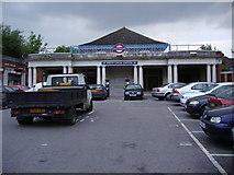 TQ2387 : Brent Cross tube station by David Howard