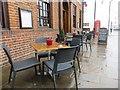 SU6089 : Empty tables by Bill Nicholls