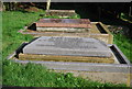 TQ5840 : Canon Hoare's Grave, Woodbury Park Cemetery by N Chadwick