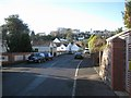 SX9373 : View along Buckeridge Avenue to Exeter Road on the skyline by Robin Stott