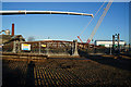TA1029 : Dismantling St Mark Street Gasholder, Hull by Ian S