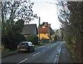 TL4648 : Whittlesford: North Road near Rayner's Farm by John Sutton