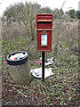 TL2460 : Croxton Village Postbox by Adrian Cable