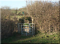 SS8678 : Kissing gate south east of Tythegston by eswales